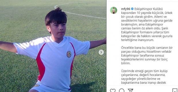 Mehmet Feyzi Yıldırım böyle veda etti