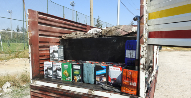 31 bin 446 litre kaçak akaryakıt ele geçirildi