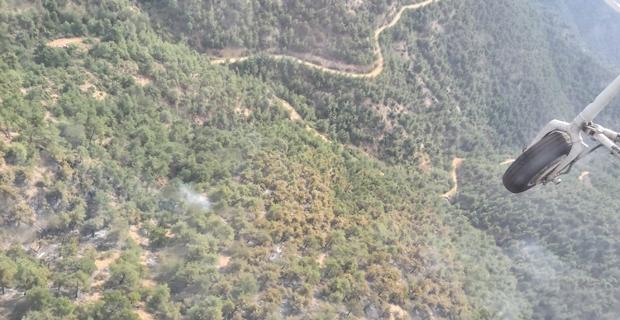 70 hektar ormanlık alan kül oldu