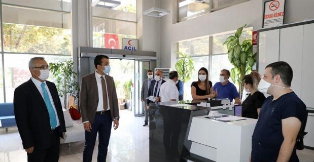 Afyonkarahisar'da Koranvirüs denetimi yapıldı