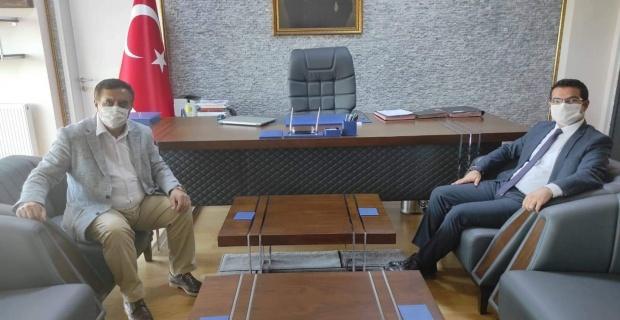 """Gündoğan, Kaymakam Han'a """"Hayırlı Olsun"""" ziyareti"""