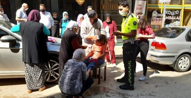 İstanbul'dan tatile gelen küçük kız kazada yaralandı