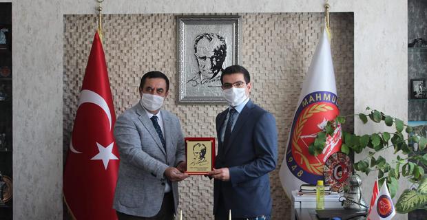 Kaymakam Han'dan Başkan Gündoğan'a İade-i Ziyaret