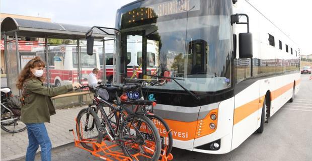 Otobüslerde bisikletli ulaşım dönemi