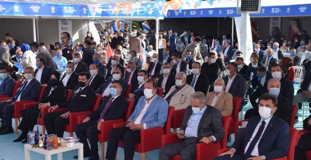 Ak Parti Tepebaşı'nda yeni yönetim belli oldu