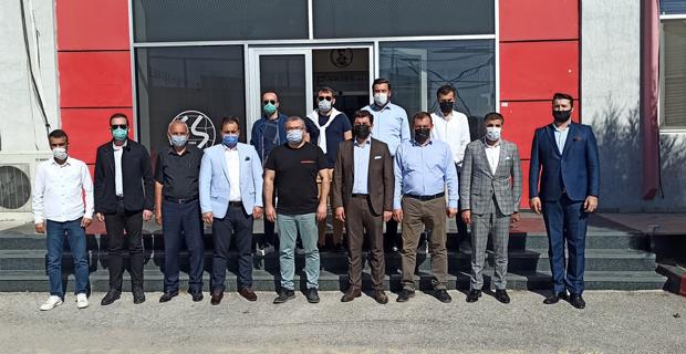 AK Parti Tepebaşı'ndan Eskişehirspor'a ziyaret