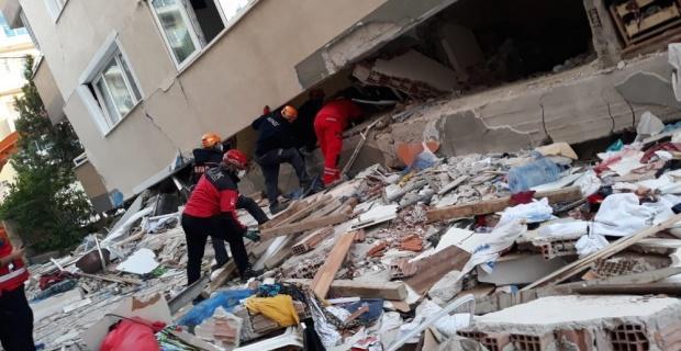 DAK İzmir'de Emine teyzeyi kurtarma çalışmalarına katıldı