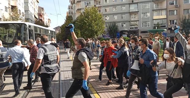 Eskişehir'de gerginlik: 9 gözaltı