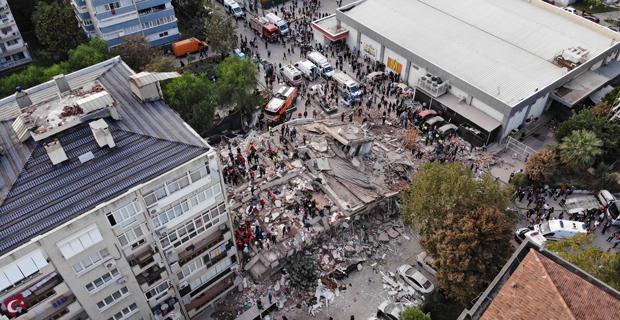 İzmir'de üzücü görüntüler