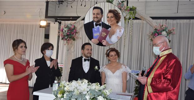 Recep Taşel oğlunu evlendirdi