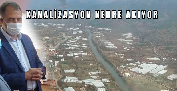 Sarıcakaya'dan Büyükşehir'e kanalizasyon çağrısı