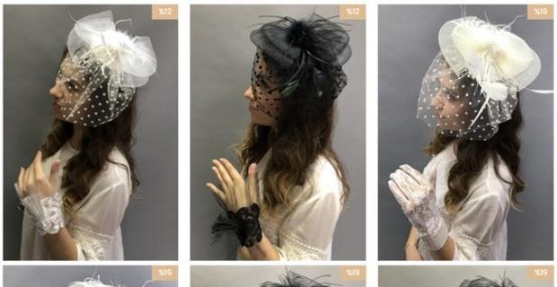 2021 Nikah Şapkası Modelleri Hayalperest Boncuk'ta