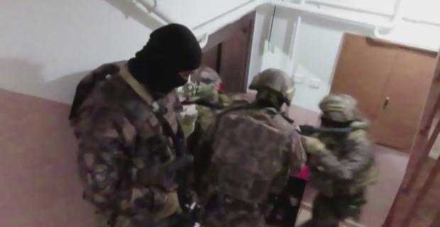 DEAŞ operasyonu polis kamerasında