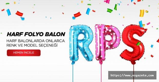 En Renkli Folyo Balon Türleri