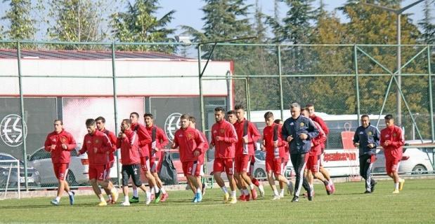 Eskişehirspor kupa mesaisine başladı