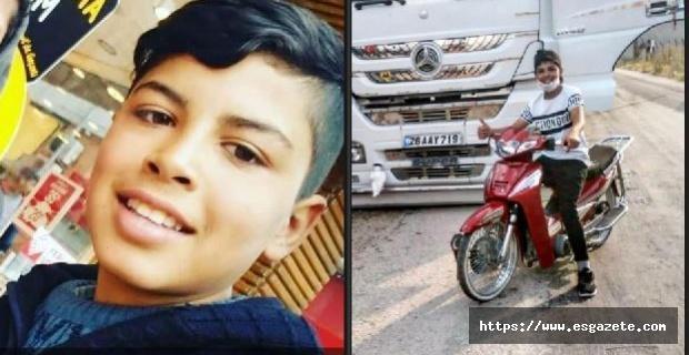 Motosiklet kamyonla çarpıştı: 1 ölü