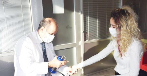 Siğil ve güneş lekelerine karşı 'Kriyoterapi'