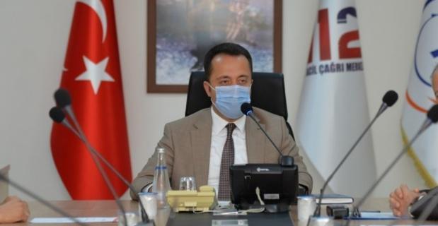 "Vali Şentürk: ""Bilecik'te vaka artışı söz konusu"""
