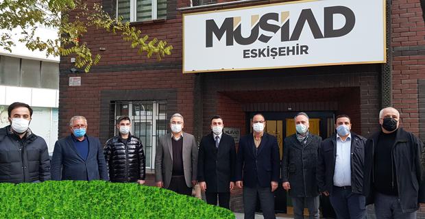 Akyıldız' dan MÜSİAD' a ziyaret