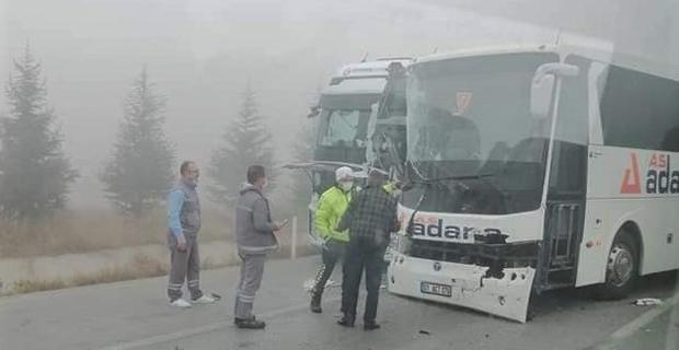 Kütahya'da trafik kazaları: 3 yaralı