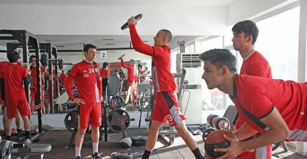 Eskişehirspor Ankaraspor maçına hazırlanıyor