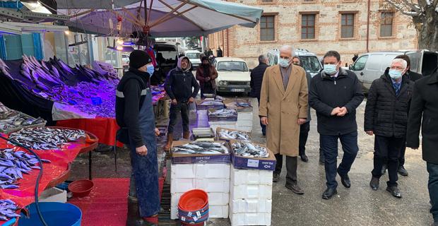 İYİ Partli Kabukcuoğlu'ndan Seyitgazi Ziyareti
