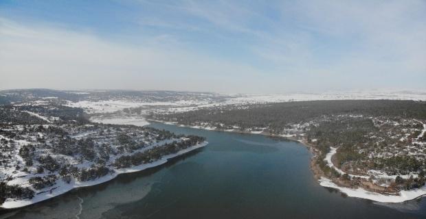 Musaözü Göleti'nde su seviyesi arttı