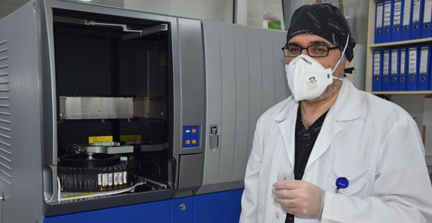 Microelisa yöntemiyle antikor testleri Özel Ümit'te