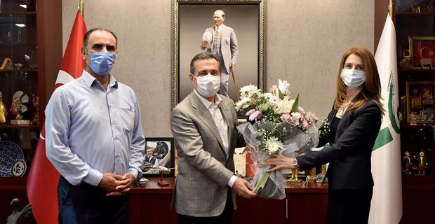 Tambova'dan Başkan Ataç'a Ziyaret