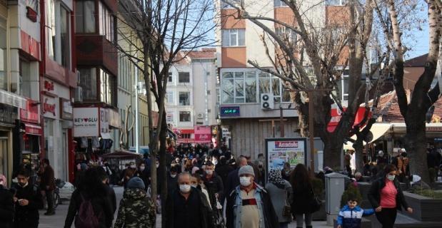 Eskişehir'de endişe veren yoğunluk