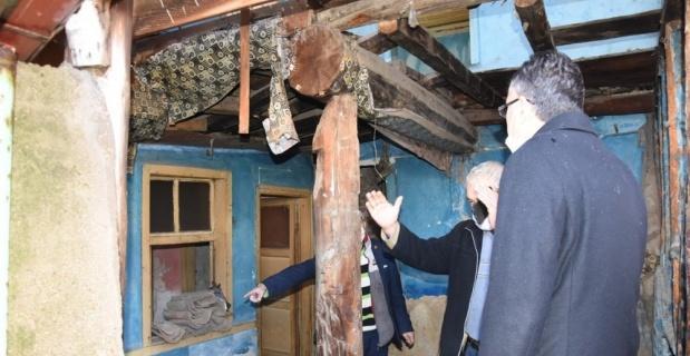 Evi yanan aile, Özel İdaresi Misafirhanesi'nde konuk edilecek