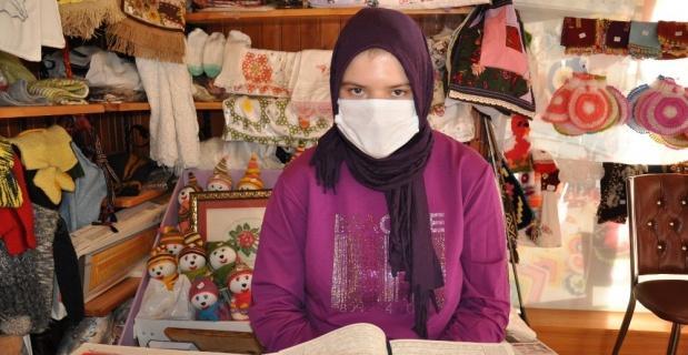 Otizmli genç kızın Kur'an aşkı