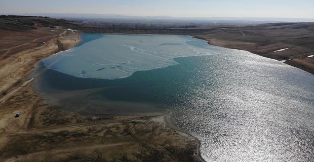 Yağışlar Keskin Barajı'na yaramadı