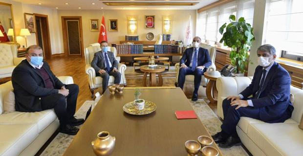 Başkan Ataç Bakan Ersoy İle Görüştü