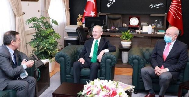 Başkan Ataç Kılıçdaroğlu ile buluştu