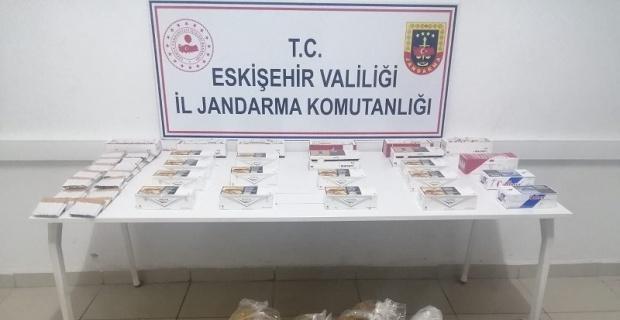 Eskişehir'de tütüncü operasyonu