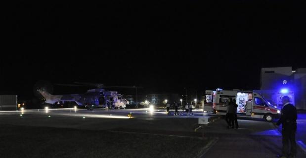 Helikopterle kurtarma operasyonu