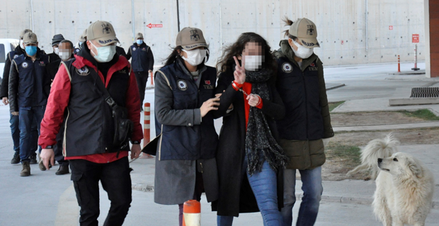Eylemciye terör operasyonu