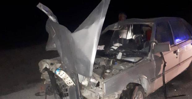 Trafik kazası, 1 kişi ağır yaralandı