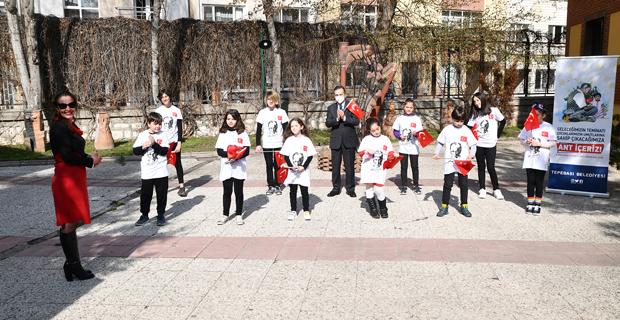 Çocuklarımız Ulu Önder Atatürk'ün İzinde