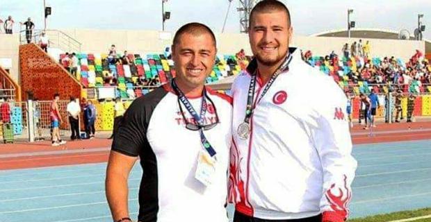 Eskişehirli sporcudan atletizmde Türkiye rekoru
