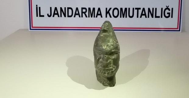 Hitit dönemine ait heykeli satmak istediler
