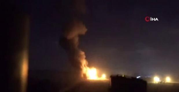 İsrail, Gazze'ye bomba yağdırdı