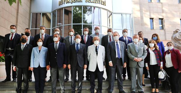 CHP Ekonomi Masası'ndan Büyükerşen'e Ziyaret