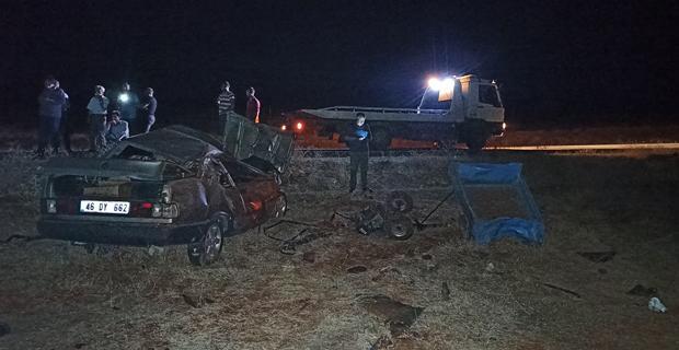 Kahramanmaraş'ta feci kaza: 4 ölü