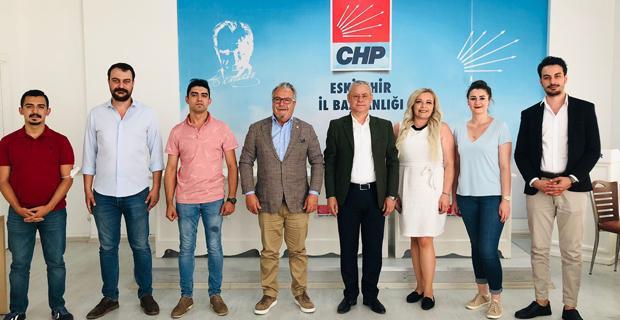 Memleket Partisi'nden CHP'ye ziyaret