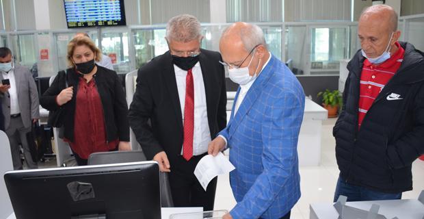 AK Parti Odunpazarı'ndan Borsa ziyareti