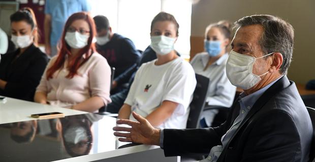 Ataç'tan Milli İrade İlkokulu'na Ziyaret