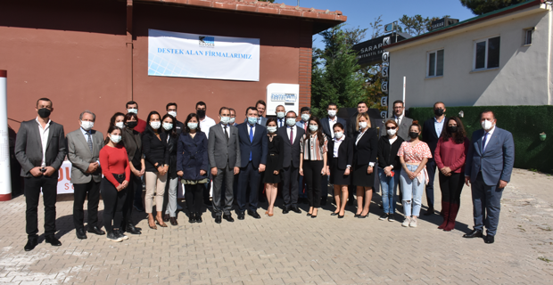 KOSGEB Başkanı Kurt Eskişehir'i Ziyaret Etti