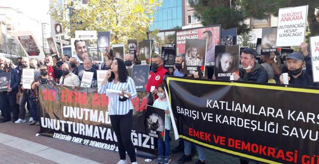 Ankara katliamı lanetlendi